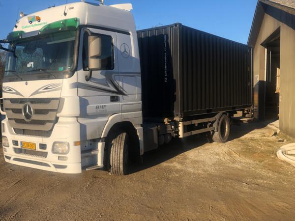 Galten flytteservice container opbevaring